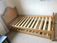 Julian Bowen Single bed with Hideaway bed and mattresses