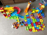 Toot Toot Vtech Garage and Construction Site Bundle