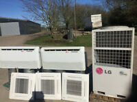 LG AIR CONDITIONING LG MULTI CASSETTE VRV 5 X IN DOOR UNIT AND ONE OUTDOOR