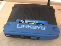 Linksys Wireless-G ADSL Gateway Router