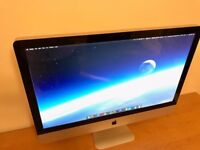 Apple iMac 27 inch with 4GB RAM, 1TB Hard drive, Excellent condition