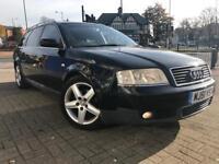 Black Audi Rare 7 Seats
