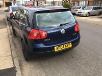 Volkswagen Golf 1.6 FSI petrol manual 2004 Blue 4dr