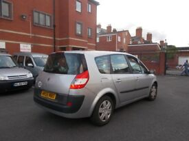 Renault Grand Scenic Expression VVT 1.6 GREAT RUNNER RELIABLE 7 SEATS 2006