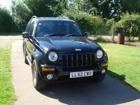 cherokee jeep limited crd auto, recent cambelt.