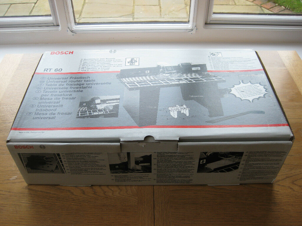 Bosch Rt60 Router Table Brand New In Box In Burgess Hill West