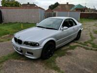 BMW 3 Series convertible 325ci Silver with Hardtop