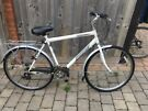 """Ammaco Dresden Hybrid City Bike 22"""" Frame 21 Speed New Brakes and Pedals Mens Bicycle"""