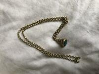Belcher chain with pendant