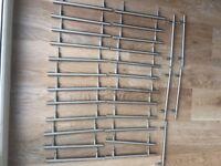 Kitchen cabinet door handles by Howdens.