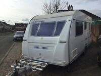 Immaculate 5 berth family caravan lots of extras , fully equipped and ready to go for the smmer