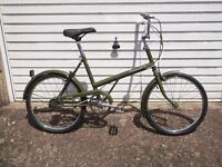 raleigh twenty retro bike 1973
