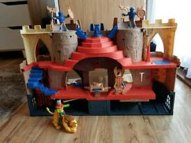Imaginext Lions Den Knight Castle as New
