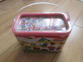 BOX of 10000 HAMA BEADS - £15 in ARGOS! BARGAIN PRICE! ONLY £6.50