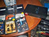 SONY PS2 WITH 9 GAMES