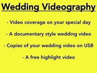 £400 Wedding Videographer with Free Wedding Highlight Video *summer 2016*