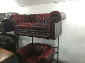 Quality chesterfield 2 and 1 Sofa Set