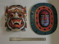 Balinese Wooden Masks