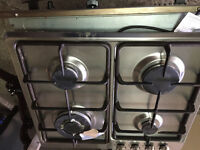 belling 4 ring gas hob