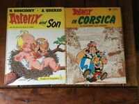 Asterix by Goscinny and Uderzo 4 hardback, 2 paperback 📚