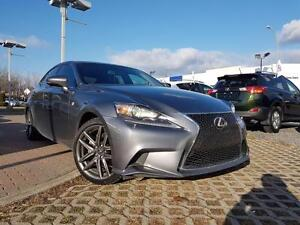 2014 Lexus IS 250 F-SPORT SERIES 2 ALL WHEEL DRIVE TRACTION