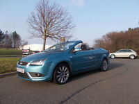 FORD FOCUS CC-2 TDCI DIESEL CONVERTIBLE STUNNING 2007 ONLY 71K MILES BARGAIN £1950 *LOOK*PX/DELIVER
