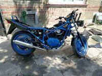 project bike honda vf400fd 1983
