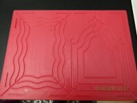 3 - A4 Embossing Boards with Project Book