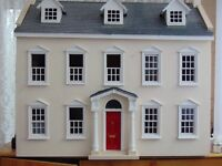 Three Storey Dolls House with Furniture And Accessories