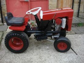 tractor bolens model 1250 petrol engine ready to use