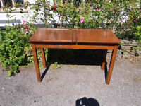 Lovely Antique Early 20th Century Edwardian Childs/Childrens Double School Desk Fold Down Tops
