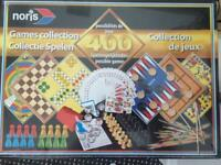 Board games new boxed & sealed, with 400 possible games! Ideal for home or caravan, gifts