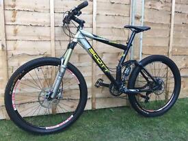 Scott genius MC50 full suspension Enduro/Downhill bike, LIKE NEW, HIGH SPEC, DEORE