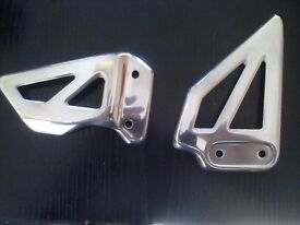 gsxr 600 750 k1 2 3 heel guards,polished