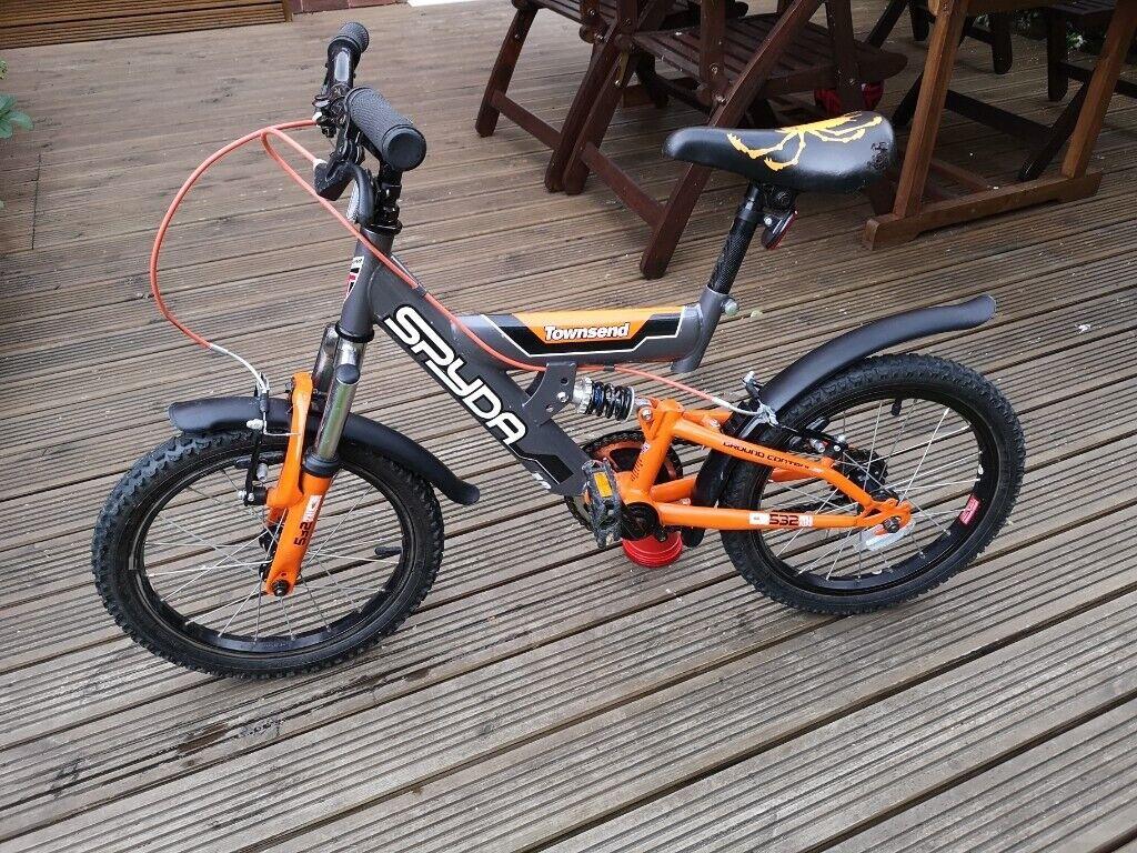 435f3d90be3 Kids Bike - 16 Inch wheel Townsend Spyda Dual Suspension | in ...