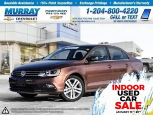 2016 Volkswagen Jetta 1.8 *Bluetooth, Rear View Camera, Heated S