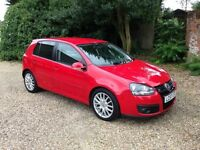 2007 '57' VW Golf GT TDI, FSH, 12 Months MOT, New Cambelt, HPI Clear. Just serviced!
