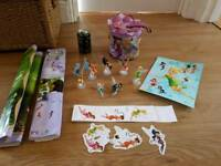disney fairies cake toppers fairy figures tinkerbell vidia periwinkle etc fairy rescue bag,poster