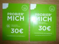 """2 GUTSCHEINE à  30,00 €  VON """"HELLO FRESH"""" - PROBIER´ MICH Düsseldorf - Bezirk 8 Vorschau"""
