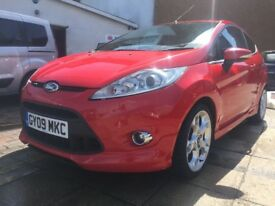Amazing spec fiesta! Titanium with st pack! Diesel 1.6!