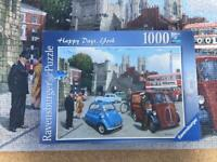 "Ravensburger 1000pc ""Happy Days York"" jigsaw puzzle"