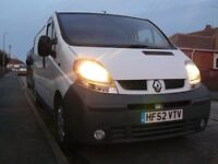 Renault trafic lwb van 52 plate with rebuilt engine and gearbox. Vivaro. No VAT