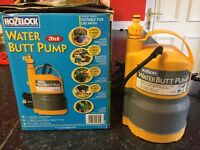 Water butt pump for sale