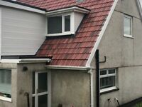 115 roof tiles for sale. Red large Marley tile.