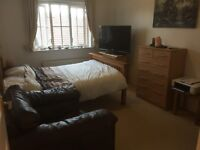 Large bedroom and private living room to rent in flat share - (£675pcm All bills inc)