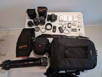 £1740 RRP VALUE BUNDLE - Canon EOS 700D Digital SLR Camera with huge bundle pack