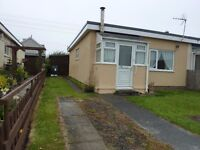 Two bed bungalow to let.