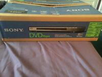 Sony DVD player as new in box