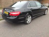 2010 10reg Mercedes E250 AMG Cdi Black Automatic cheapest amg around