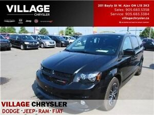 2016 Dodge Grand Caravan R/T|NAV|TOW|LEATHER|BLINDS|PWR DRS
